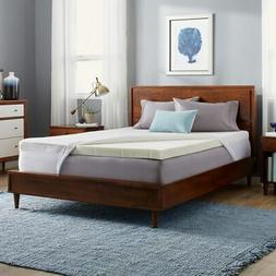 Slumber Solutions 3-inch Memory Foam Mattress Topper with