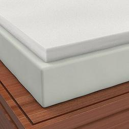 Firm Sleeper 2.0 Cal King 6 inch Memory Foam Mattress Pad To