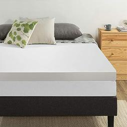 "Best Price Mattress 4"" Memory Foam Mattress Topper, Twin XL"