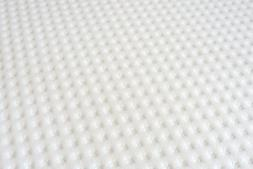 """Easy Fit Zipped Cover for 3"""" Memory Foam Mattress Toppers CO"""