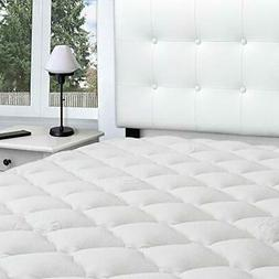 eLuxurySupply Rayon from Bamboo Extra Thick Mattress Topper