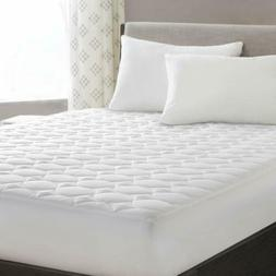 """Full Mattress Topper Pad Stretches up 8-18"""" Deep Pocket Hypo"""
