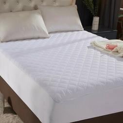 """Queen Size Quilted Mattress Protector Pad Topper Cover 16"""" D"""