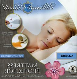 Hypoallergenic Mattress+Box Spring Cover/Protector Cotton To