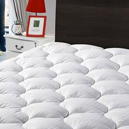 LEISURE TOWN Queen Mattress Pad Cover Cooling Topper Cotton