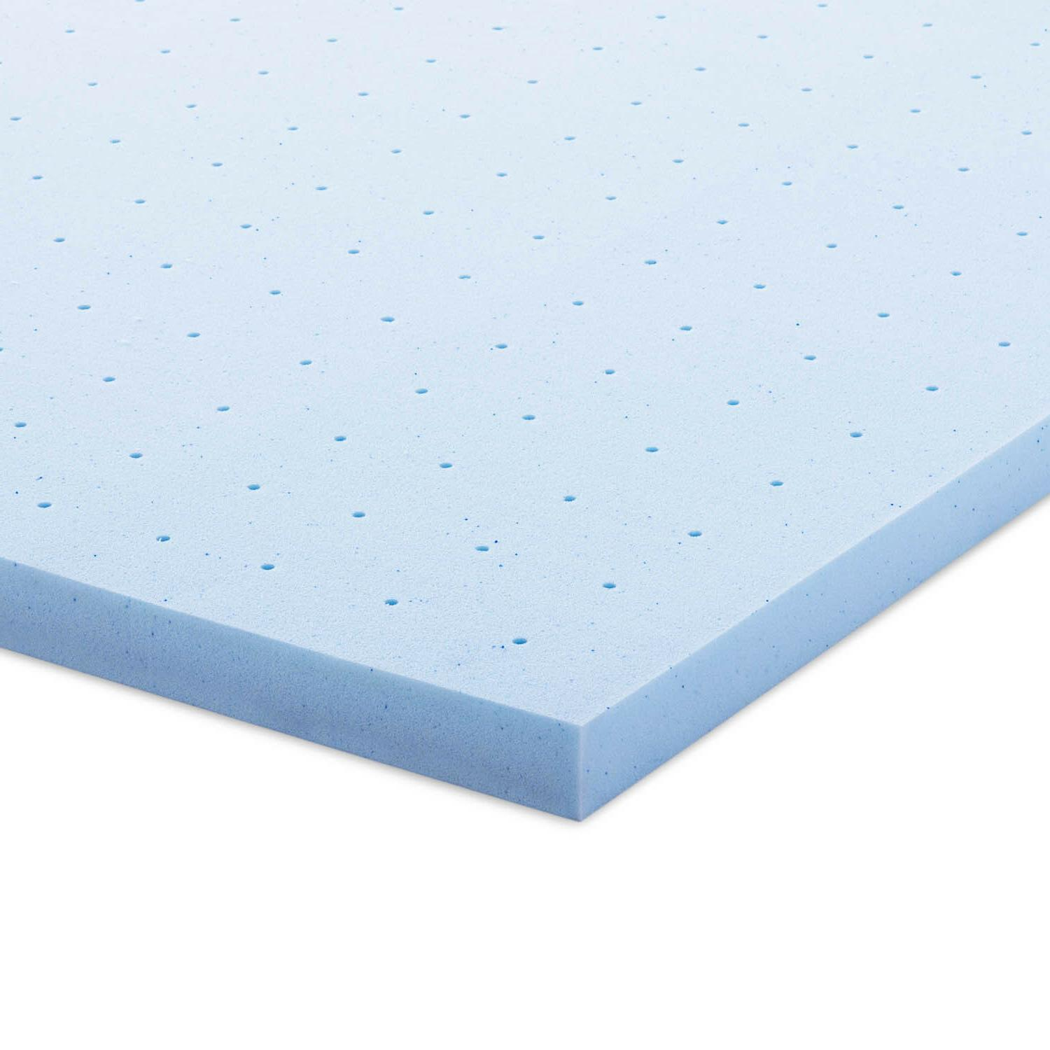 2.5 Inch Cooling Memory Foam Topper - Full Queen and Size