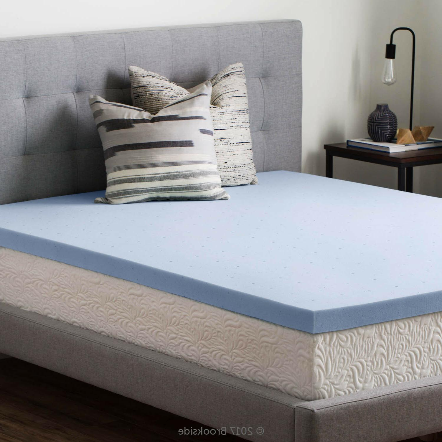 2.5 Inch Memory Foam Mattress Topper - and King