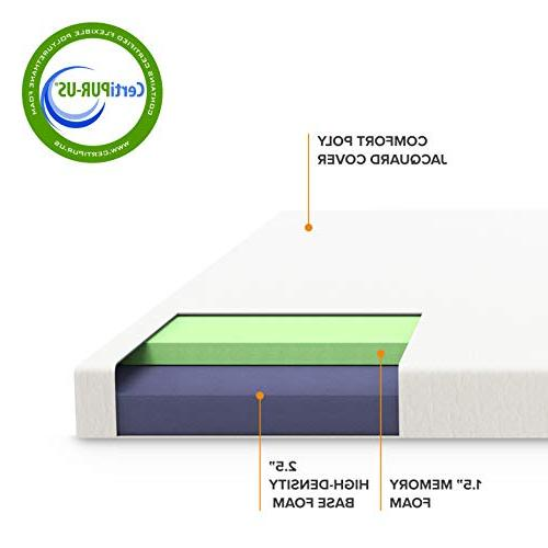 Twin Mattress - CertiPUR-US Mattress Topper Twin
