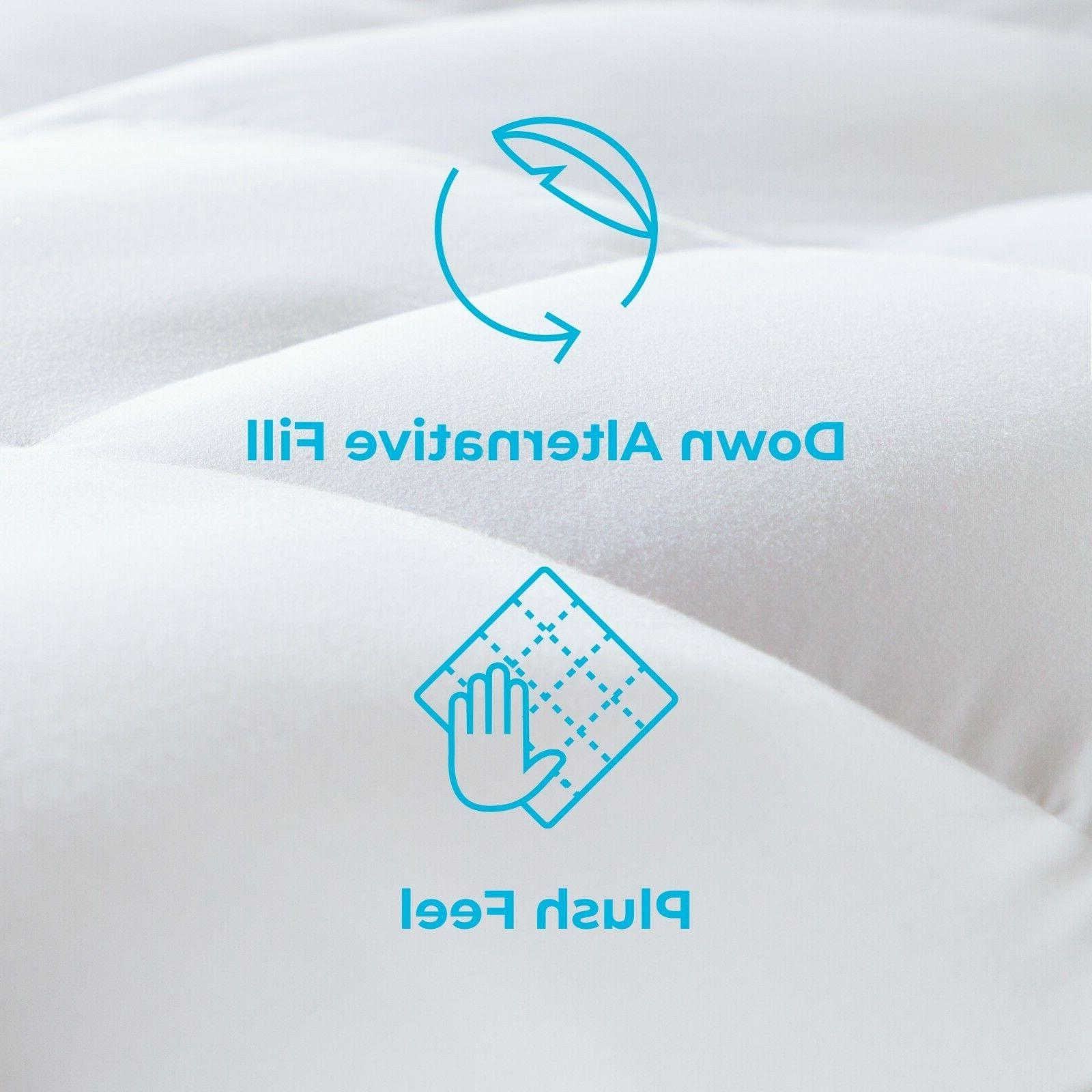 Linenspa Down Alternative Bed Mattress