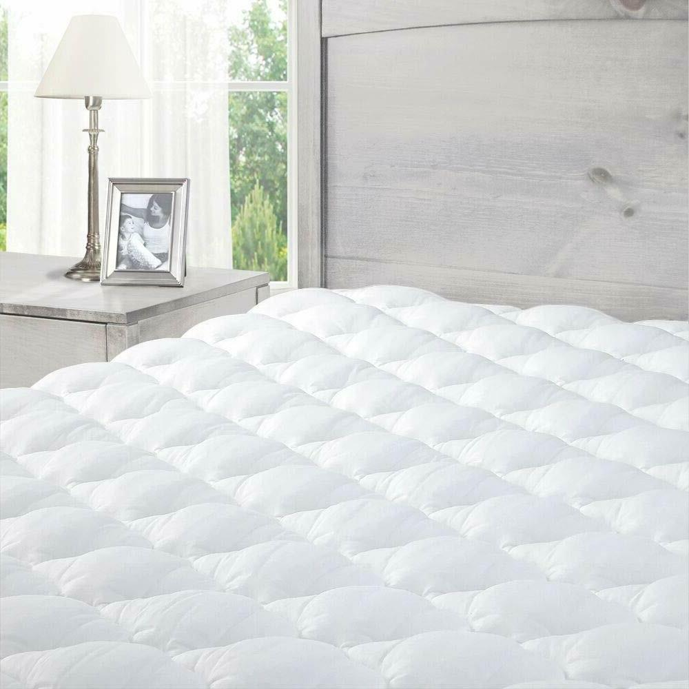 exceptional sheets pillowtop mattress pad fitted skirt