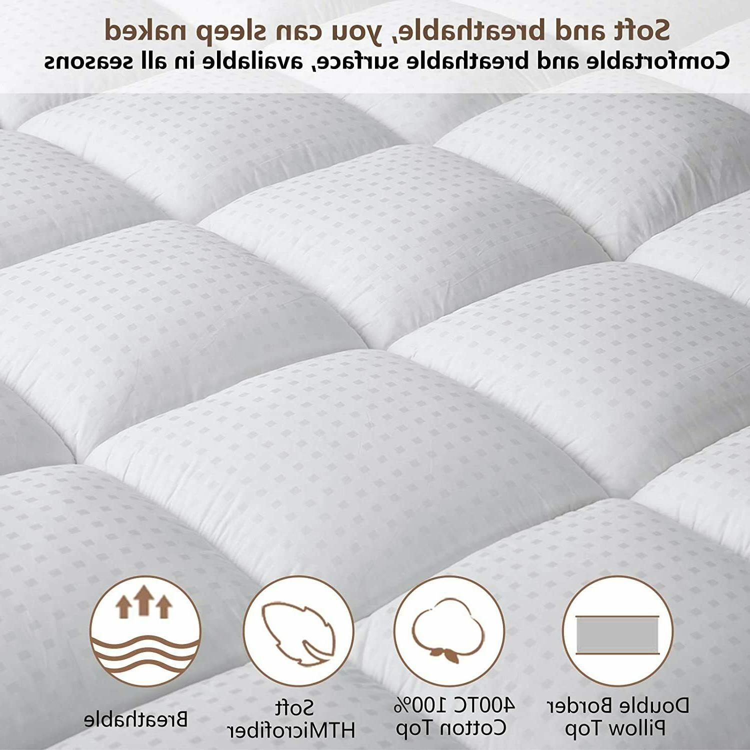 Extra Thick Mattress Cooling Matress Pocket Breathable