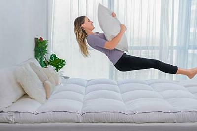 Extra Thick Queen Top,400TC Plush Pillow Top
