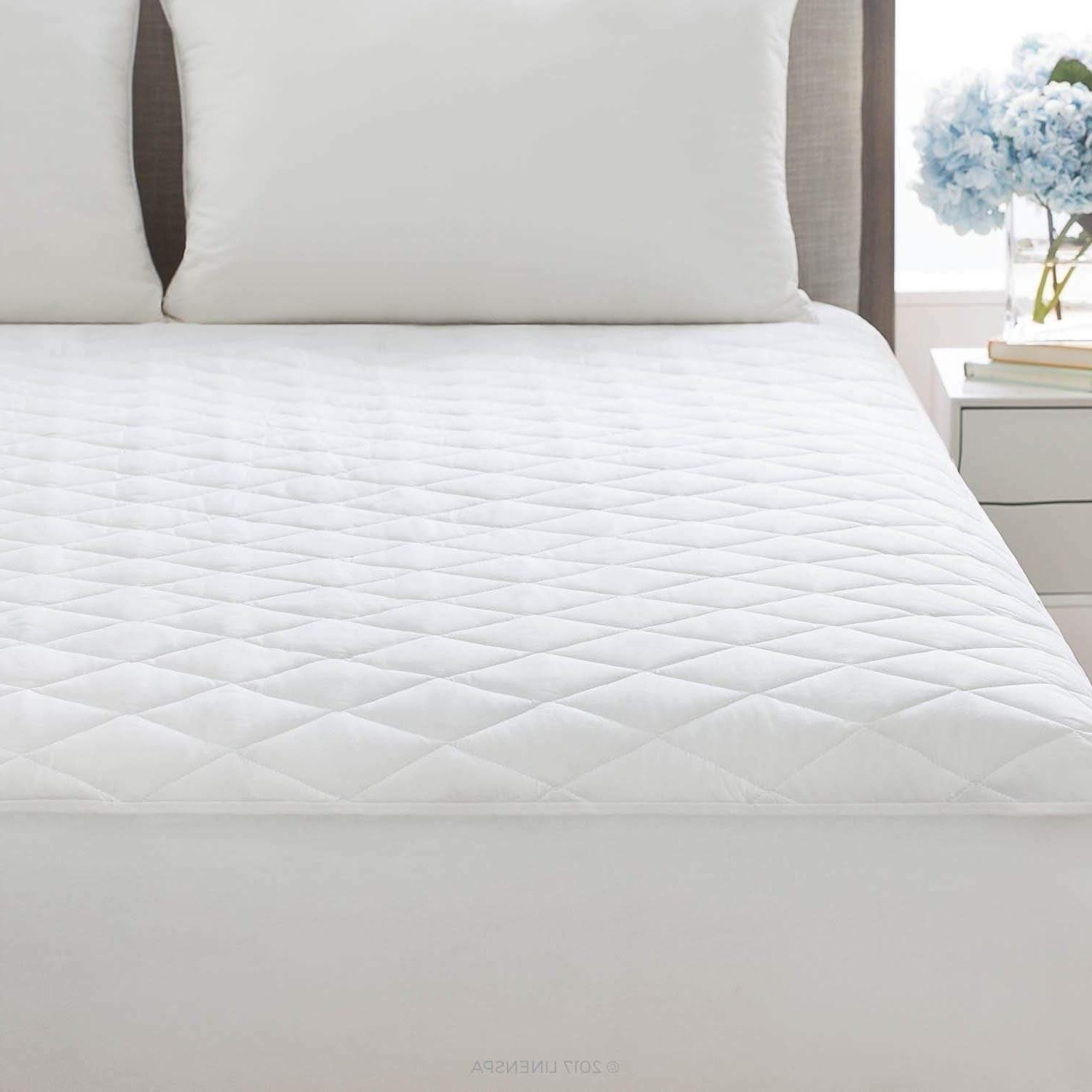 "Cal King Quilted Mattress Protector Pad Topper Cover 16"" Dee"