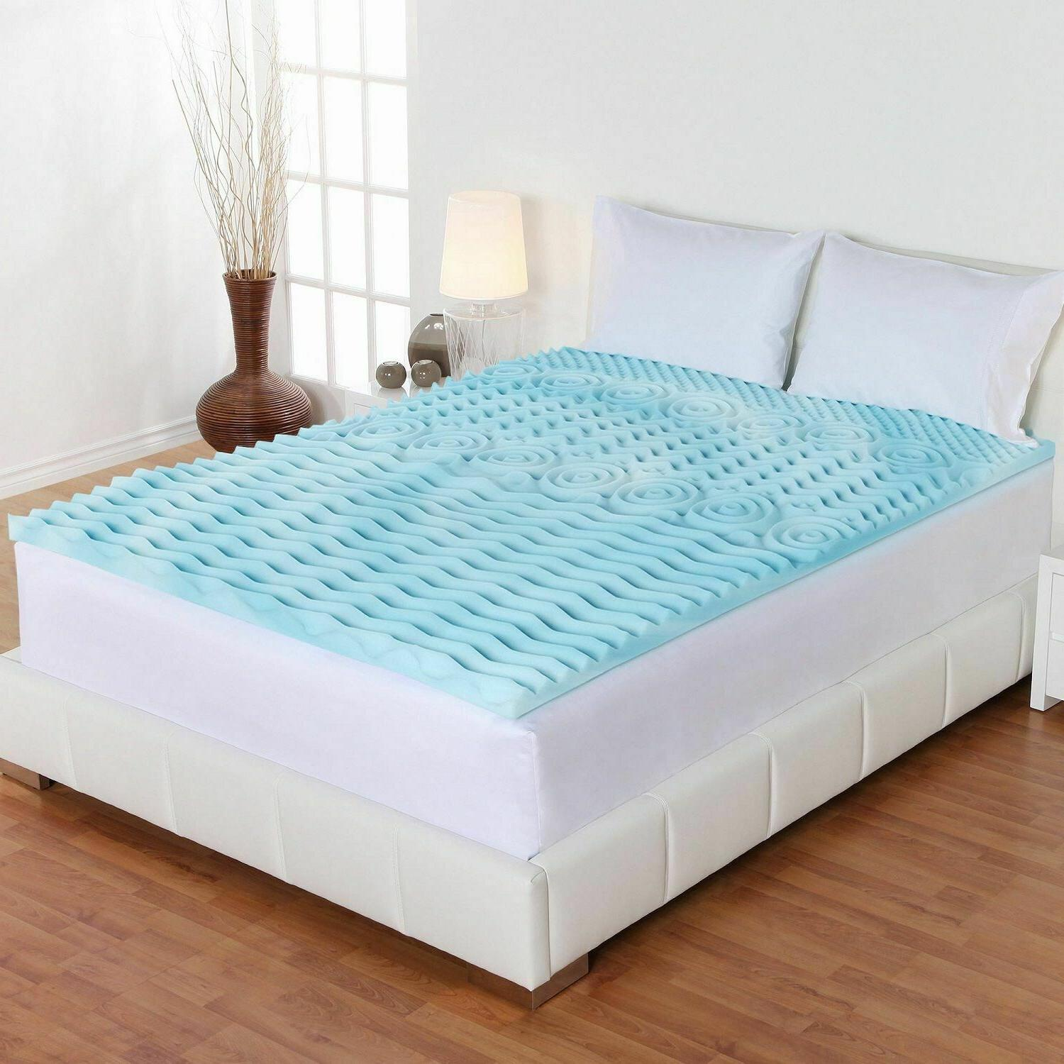 "Mattress 5 2"" Pad Sleep Back Support"