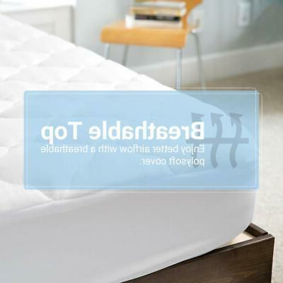 ExceptionalSheets Pillowtop Mattress with Fitted Extra Plush Topper