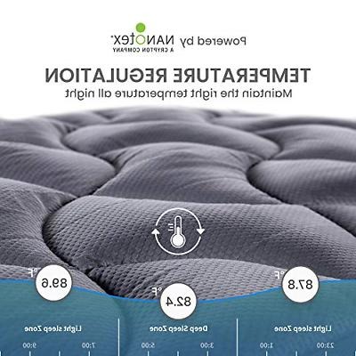 Twin Mattress Cover Memory Top Cooling