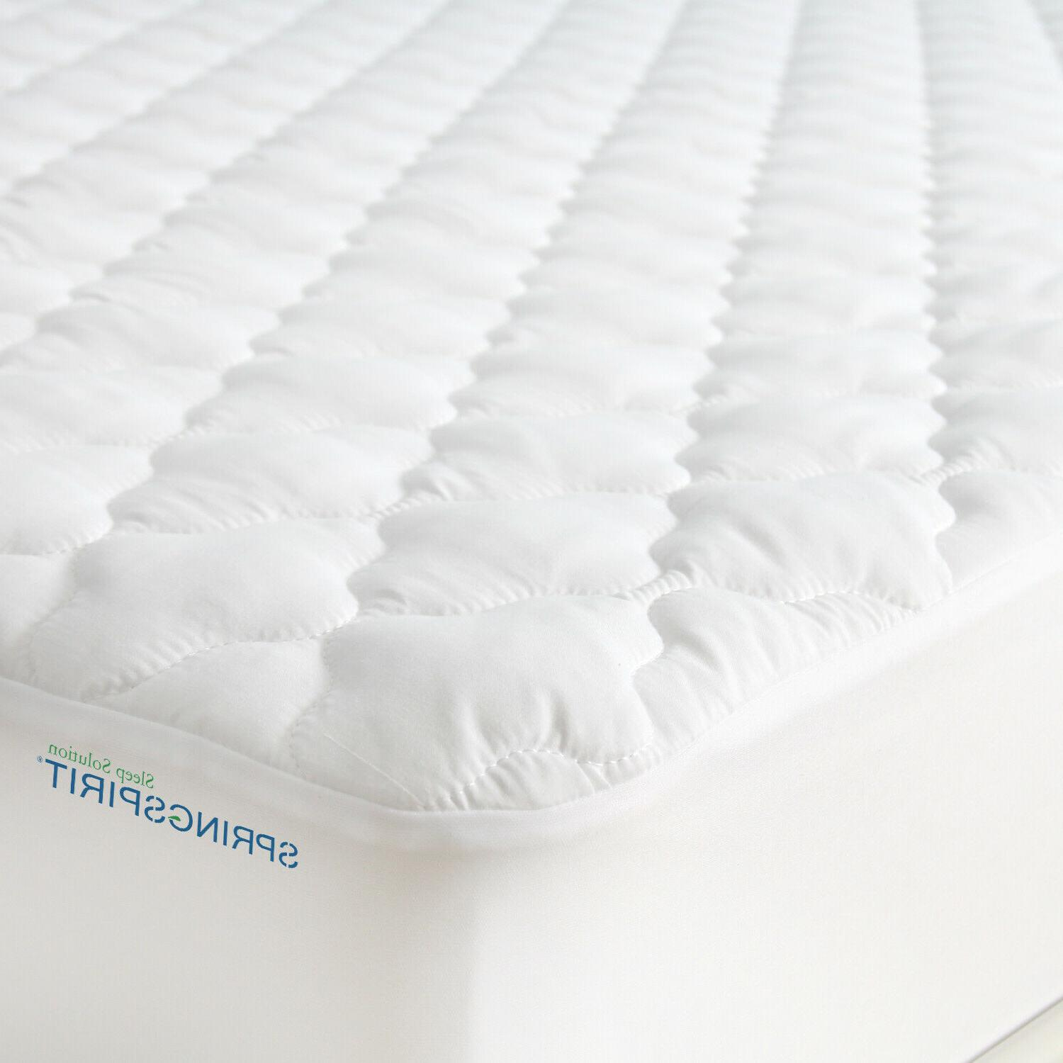 Waterproof Quilted Mattress Pad Protector