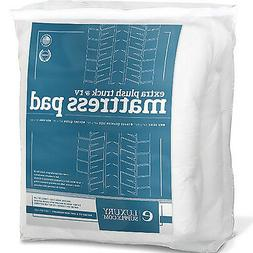 Luxury RV Deep Pocket Mattress Topper Fitted Quilted Goose D
