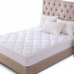 Mattress Pad Cover Cooling Breathable Topper Quilted Fitted