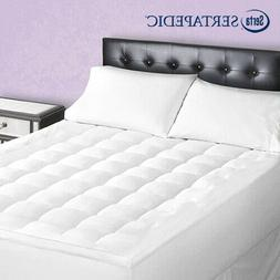 Sertapedic Superior Loft Down Alternative Soft Mattress Pad