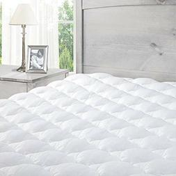 Pillow Top Mattress Pad Extra Plush Topper Found in Marriott