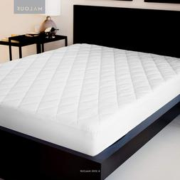 Sleep Tite Quilted Mattress Pad Damask Cover And Down Altern