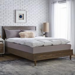 The Best Mattress Topper 5 Inch Baffled Featherbed with Cove