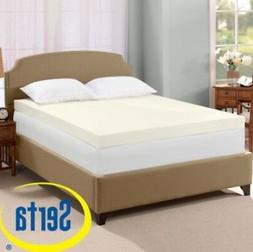 Serta Ultimate 4-inch Visco Memory Foam Mattress Bed Topper
